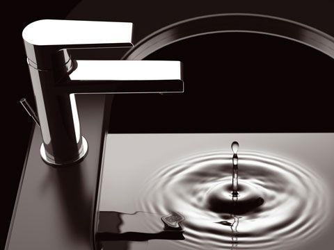 Mitigeur lavabo ARTIQUE avec vidage - chromé