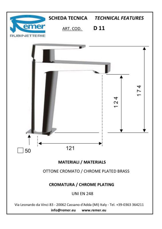 Mitigeur lavabo DRIM chromé