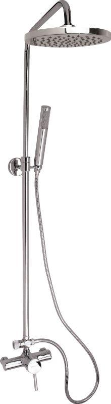 Colonne de douche télescopique SIROCO avec mitigeur